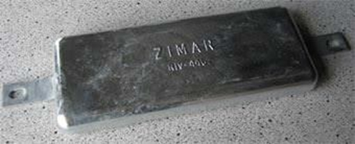 Picture of RIV-440 Zimar Bolt On Drilled Plate Zinc