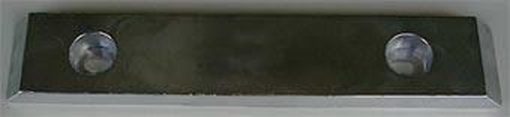 Picture of UM-10 Zimar Bolt On Drilled Plate Zinc