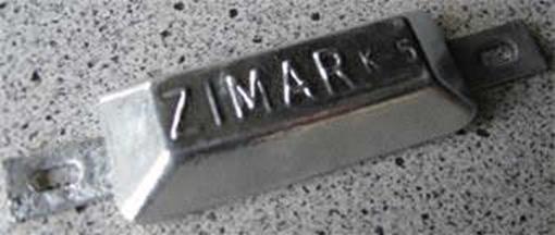 Picture of K-5 Zimar Weld On Plate Zinc