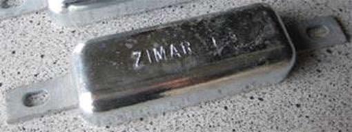 Picture of FE-9 Zimar Weld On Plate Zinc
