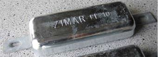 Picture of FE-10 Zimar Weld On Plate Zinc