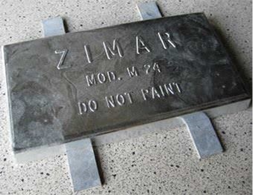 Picture of M-24 Zimar Weld On Plate Zinc