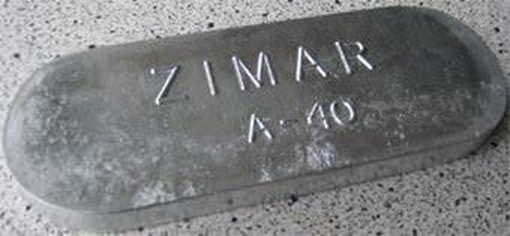 Picture of M-40 Zimar Weld On Plate Zinc