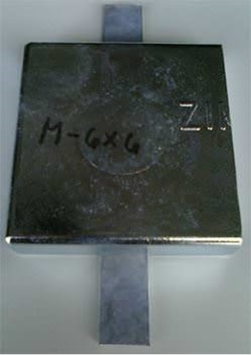 Picture of M-6X6 Zimar Weld On Plate Zinc
