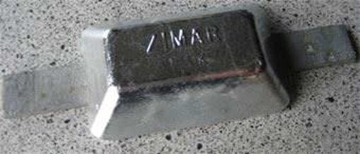 Picture of P-1.3K Zimar Weld On Plate Zinc