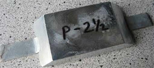 Picture of P-2.5K Zimar Weld On Plate Zinc