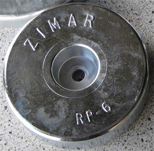 Picture of RP-6 Zimar Round Plate Zinc