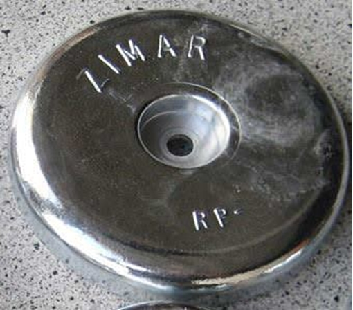 Picture of RP-7 Zimar Round Plate Zinc