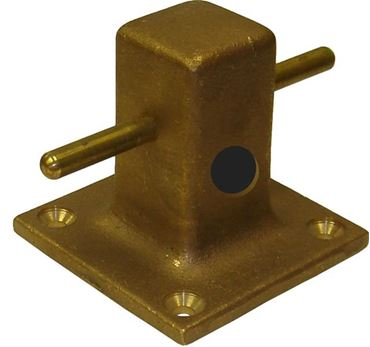 Picture for category Bronze with Rope Hole Mooring Bitts