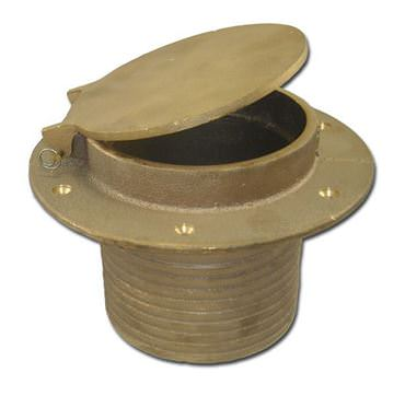 Picture for category Bronze Transom Exhaust Fittings with Flapper
