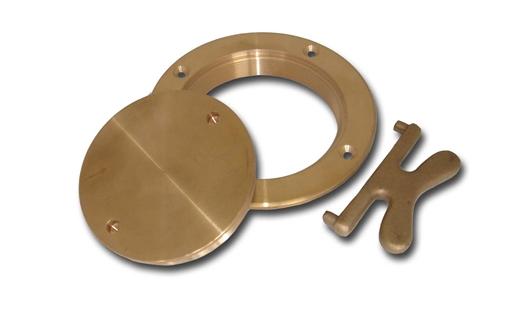 Picture of 00DP600 Buck Algonquin Bronze Deck Plates