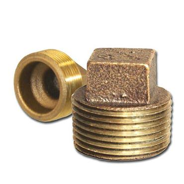 Picture for category Bronze Square Head Cored Plugs