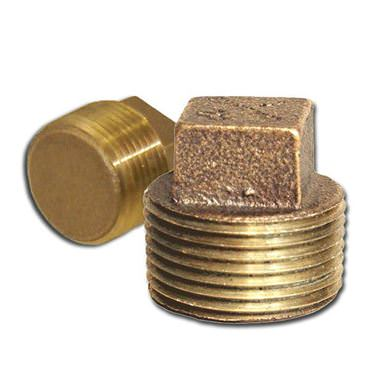 Picture for category Bronze Square Head Solid Plugs