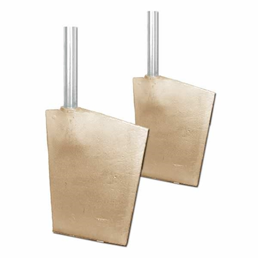 Picture of 10R20MSS1  Spade Rudders