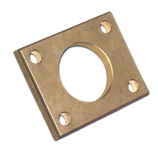 Picture of 00RPBP12CC  Rectangle Rudder Port Backing Plates