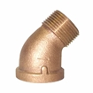 Picture of 00103H125 45 Degree Bronze Street Elbows