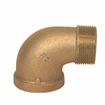 Picture of 00103075 90 degree Bronze Street Elbows