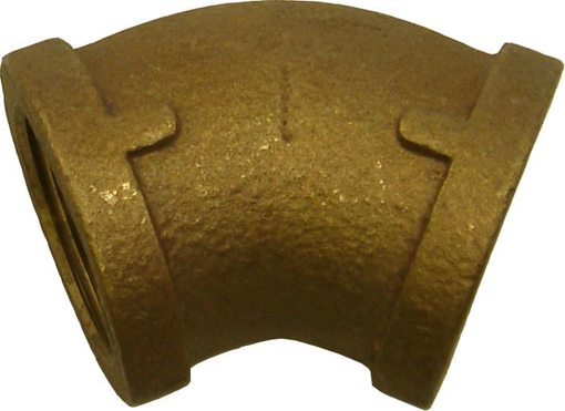 Picture of 00102011 45 degree Bronze Elbows