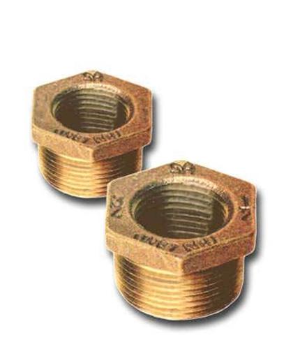 00114050025 Bronze Hex Bushings