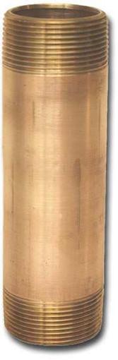 00075X25LN Bronze Long Nipples