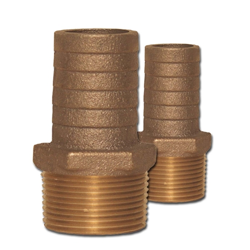 Picture of 00HN100125 Bronze Pipe to Hose Adapters Combo