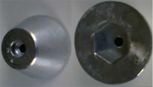 VT-2 Zimar Nut Zinc Anode