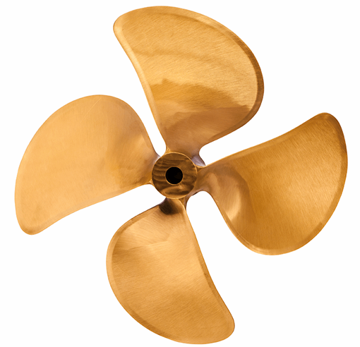 Picture of 19 inch DQX 4 Blade Bronze