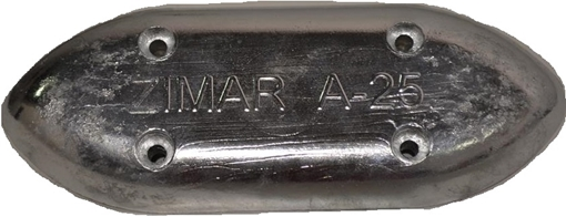 Picture of A-25 Zimar Bolt On Drilled Plate Zinc