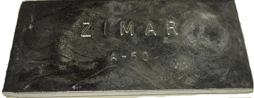 Picture of A-50 Zimar Bolt On Undrilled Plate Zinc