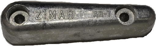 Picture of AR-6 Zimar Bolt On Drilled Plate Zinc