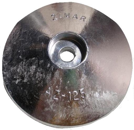 Picture of AZ-125 Zimar Round Plate Zinc