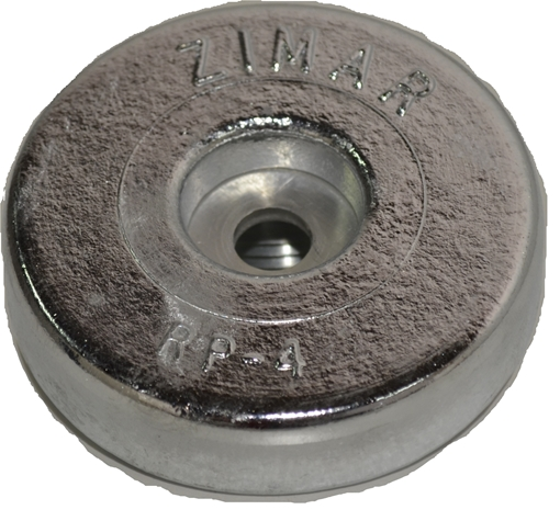 Picture of RP-4 Zimar Round Plate Zinc
