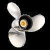VOLVO AQUAMATIC (LONG HUB) 15 stainless steel propeller