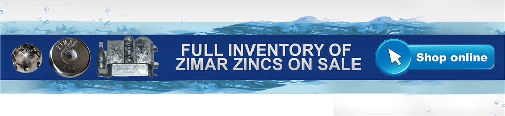 Zimar Zinc Anodes for Boats